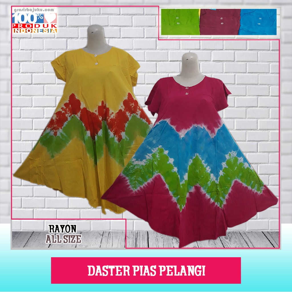 Distributor Daster Batik Solo Murah 18rb Distributor Daster Pias Pelangi Murah