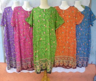 Distributor Daster Batik Solo Murah 18rb Distributor Daster Kencana Ungu Tanah Abang