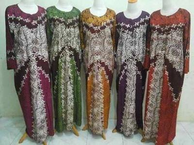 Distributor Daster Batik Solo Murah 18rb Distributor Daster Lengan Panjang Long Dress Tegal Gubuk