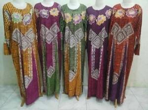 Distributor Daster Batik Solo Murah 18rb Distributor Daster Lengan Panjang Long Dress Tegal Gubuk 3