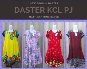 Distributor Daster Batik Solo Murah 18rb Sentra Grosir Daster KCL Panjang Termurah