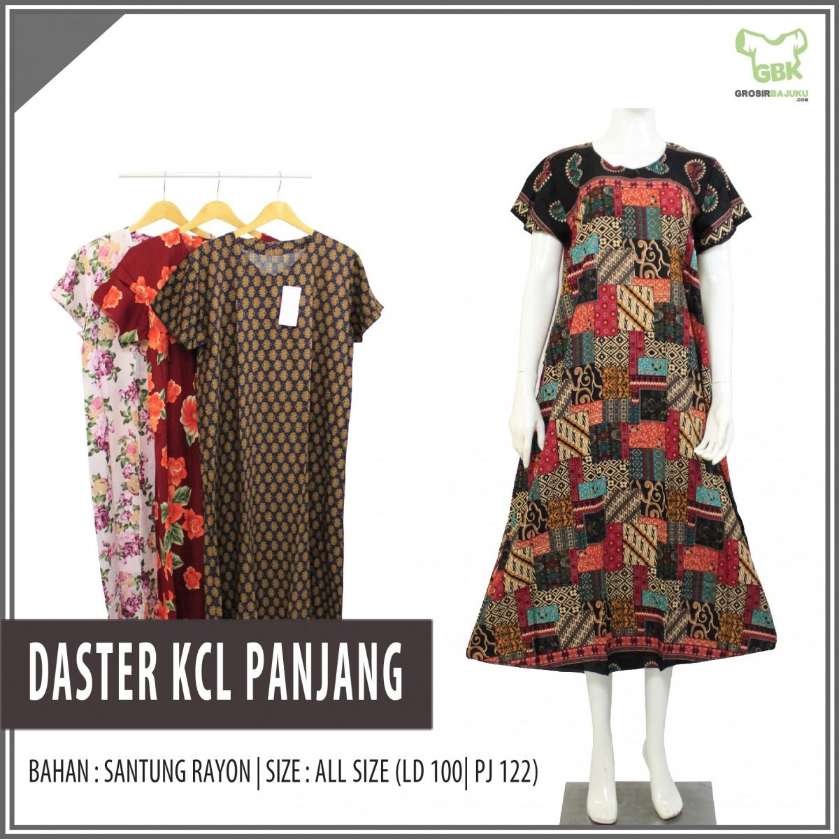 Distributor Daster Bisnis Daster KCL Panjang Murah